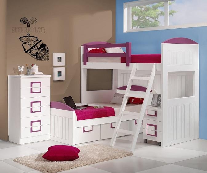 cama litera original para hermanos o hermanas