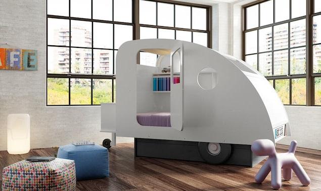 5 tipos de camas originales para ni os impresionantes - Habitaciones originales para ninos ...