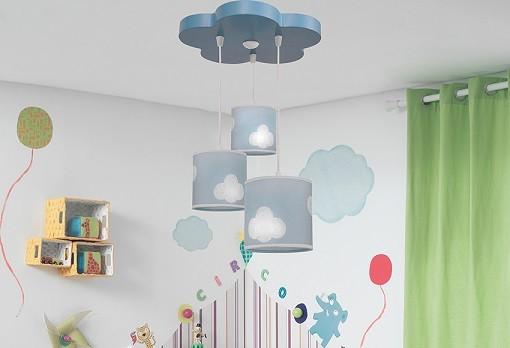 Consejos para la decoracion de dormitorios infantiles - Lamparas de techo habitacion ...