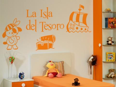 Consejos para la decoracion de dormitorios infantiles for Vinilos para dormitorios infantiles