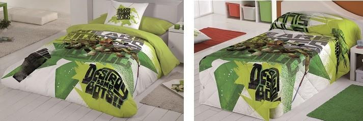 Como vestir una cama infantil de ni o o ni a - Fundas nordicas elegantes ...