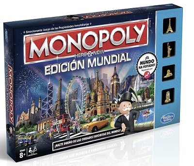 juego de mesa el monopoly de ciudades