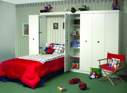 camas abatibles para ahorrar espacio