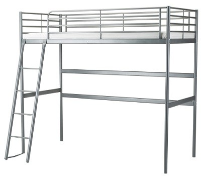 estructura de forja para cama alta