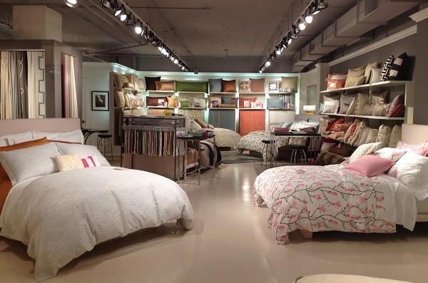 fundas nordicas en una tienda especializada en textil