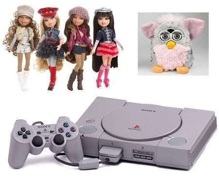 juguetes infantiles mas vendidos en la decada del 2000