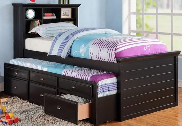 Ventajas de las camas nido juveniles e infantiles para ni os - Camas infantiles con cajones ...