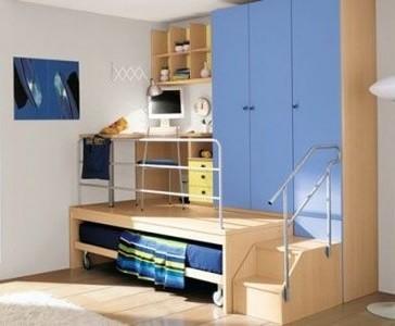 Ventajas de las camas nido juveniles e infantiles para ni os for Camas juveniles con escritorio incorporado