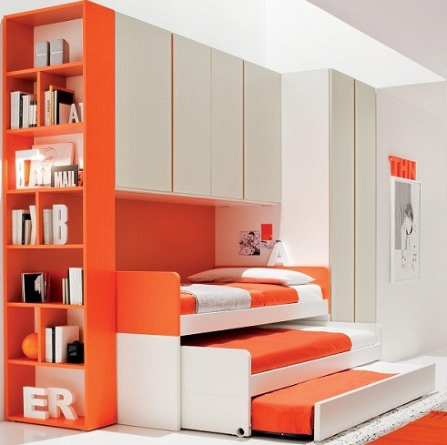 camas nido para niños triple