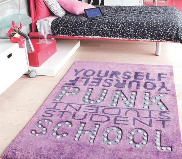 alfombra para usar en cuartos de adolescentes