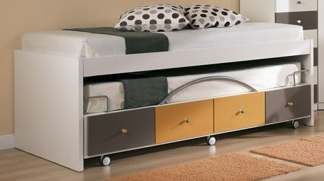 barrera en la cama supletoria compacta