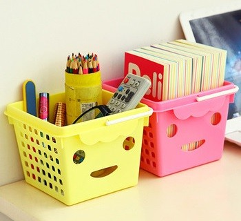 cestas decorativas para el dormitorio juvenil