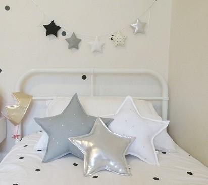 Decoracion de habitaciones juveniles ideas y tendencias - Como colocar cojines en la cama ...