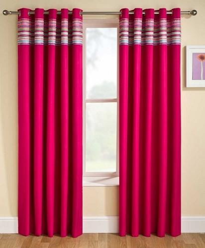 cortinas coloridas para habitaciones juveniles