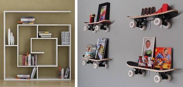 estanterias modernas y chulas para habitaciones