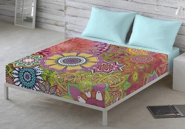 estampados modernos y coloridos en la ropa de cama Naturals