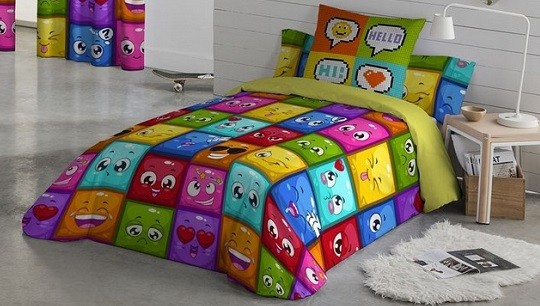 funda nordica naturals para cama de niños
