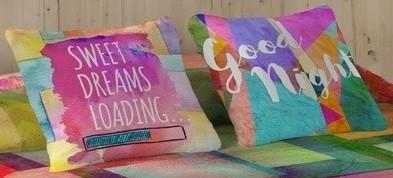 set de cojines para ambientar camas