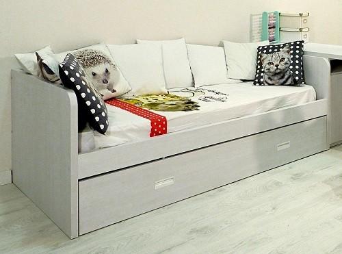 cama para niños de 80 cm ancho
