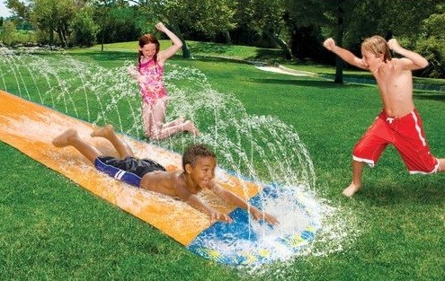 deslizador de agua para nenes