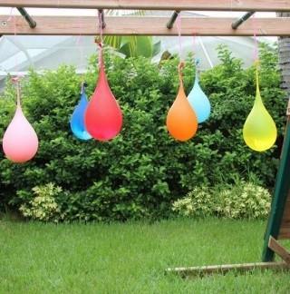globos hinchados de agua para jugar en verano