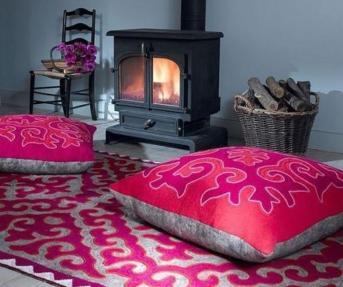 Como decorar con cojines decorativos de una manera sencilla - Cojines para sentarse ...