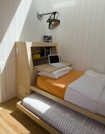 decorar el escritorio de una habitacion como cabecera