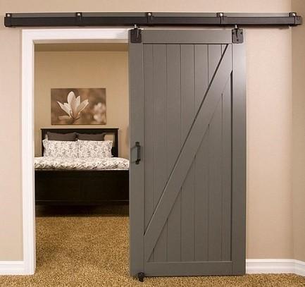 puerta corredera para un dormitorio