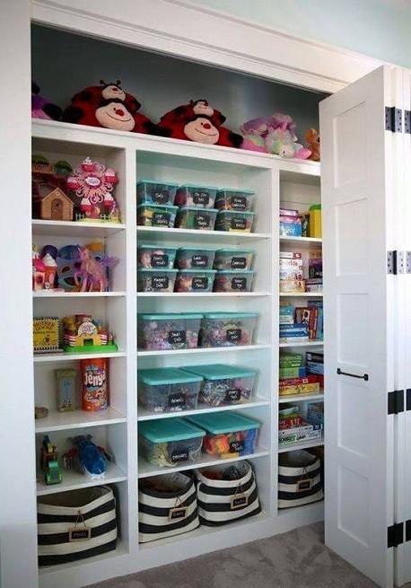 armario empotrado juguetero
