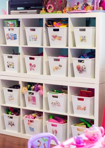 cesto de plastico para guardar juguetes