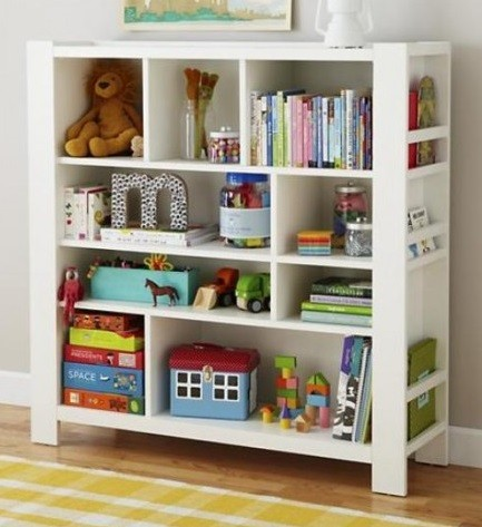 Como guardar juguetes de ni os en espacios peque os - Mueble para guardar juguetes ...