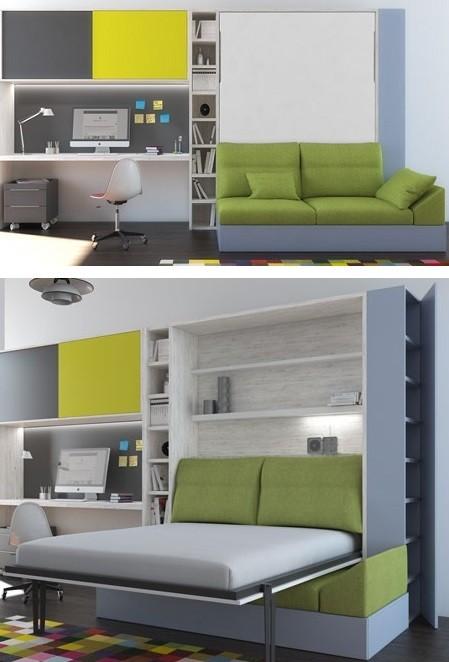 cama abatible con sofa