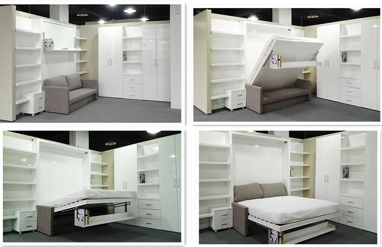 Camas empotradas en armarios cool armario con cama nido - Construir cama abatible ...