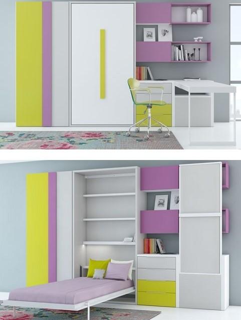 Camas abatibles juveniles para espacios reducidos camas - Camas abatibles juveniles para espacios reducidos ...
