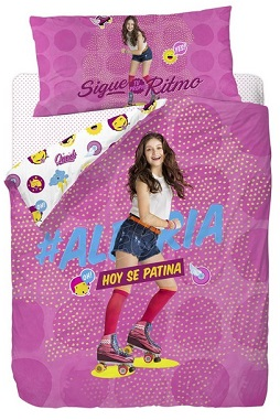 funda nordica para cama soy luna serie disney channel