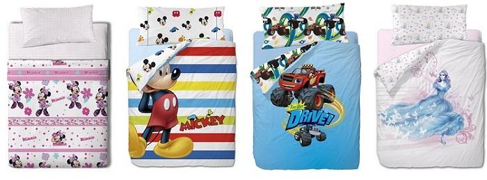 textil disney para cama niños