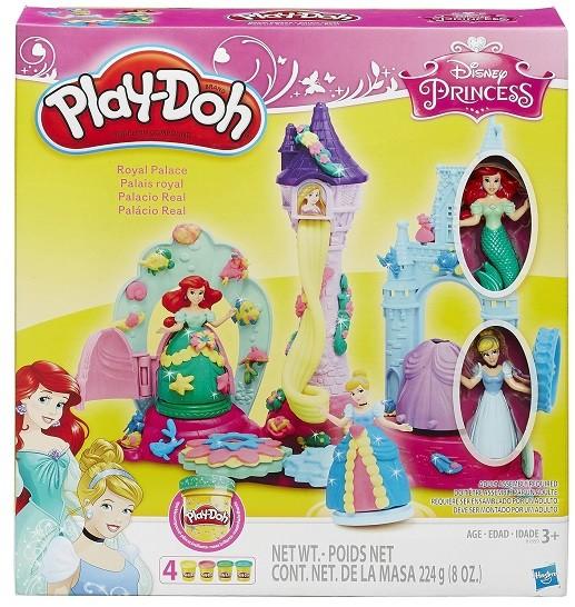 palacio de cristal play doh princesas