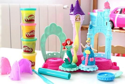 palacio real play doh princesas
