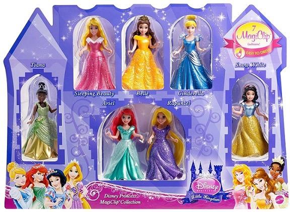 princesas magic clip con bella durmiente y blancanieves