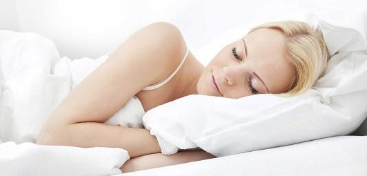 dormir a gusto en una cama recien hecha