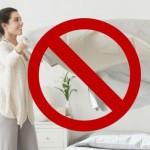 mito hacer la cama es malo