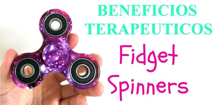 beneficios terapeuticos de usar fidget spinner
