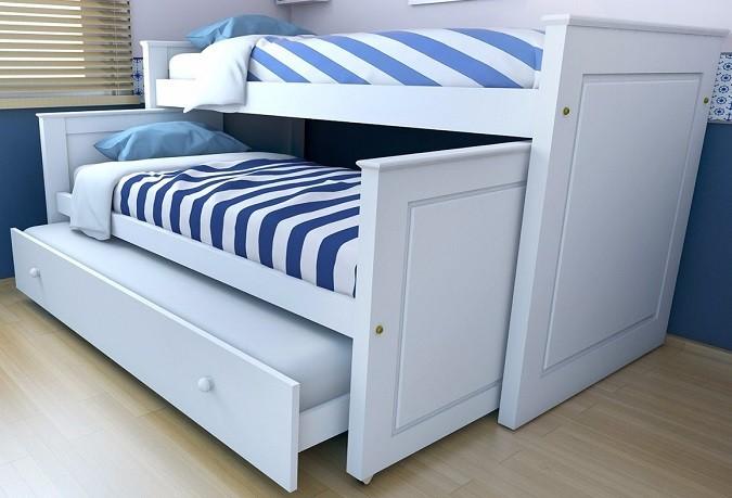 cama nido con edredon ajustable
