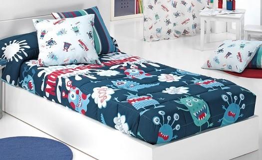 Es mejor edredon ajustable o saco nordico para cama de niño