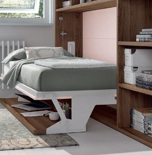 edredon ajustable en cama abatible