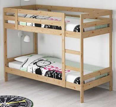 cama juvenil de ikea 90x200