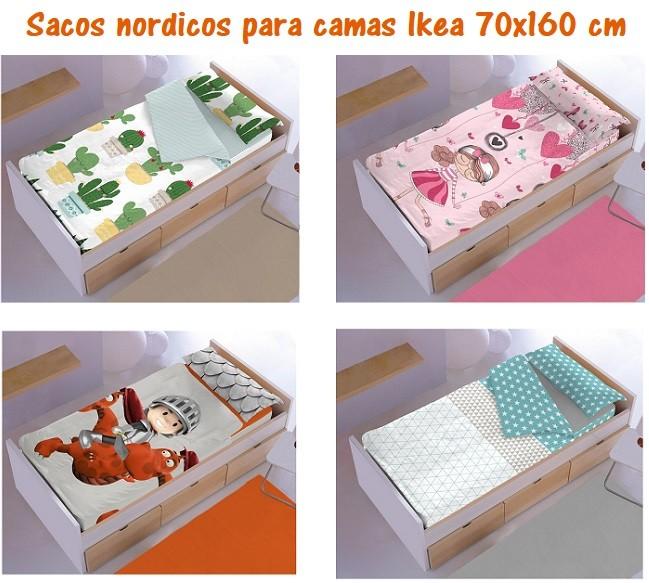 sacos nordicos para camas ikea de 70x160 cm