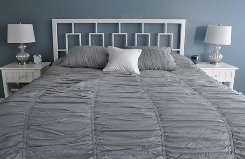 cabecero forja para cama grande