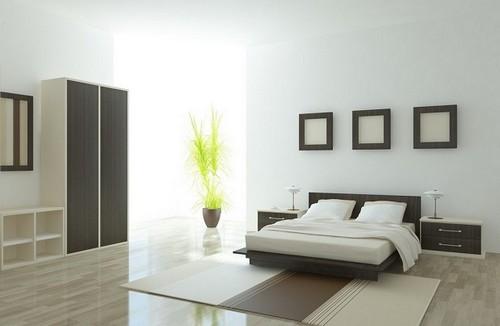 decoracion minimalista para dormitorio grande