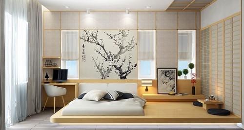 decorar habitacion matrimonio con estilo japones